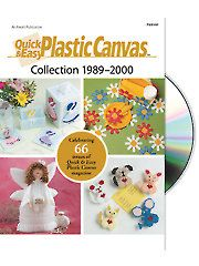 Plastic Canvas Patterns - Quick & Easy Plastic Canvas Collection 1989-2000 DVD -- Finally!!! I have been waiting for a collection of the plastic canvas magazines to be released!