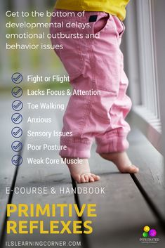 MYTHS: The Myths about Retained Primitive Reflexes that could be Holding Your Child Back in their Learning and Motor Development - Integrated Learning Strategies Fine Motor Activities For Kids, Sensory Activities, Infant Activities, Sensory Motor, Sensory Diet, Sensory Toys, Emotional Development, Language Development, Child Development