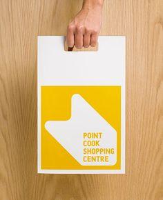 Walker Corporation Point Cook Shopping Bag Branding by Hoyne Design