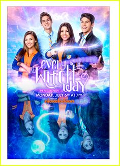 Andy, Daniel, Emma, & Jax from Every Witch Way Movies Box, Movies To Watch, Good Movies, Movies And Tv Shows, Childhood Tv Shows, Childhood Movies, Disney Channel, Series Gratis, Every Witch Way