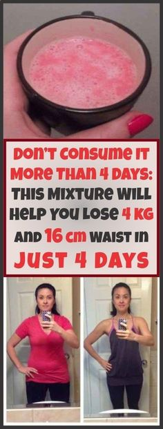 Don't Consume It More Than 4 Days: This Mixture Will Help You Lose 4 kg And 16 cm Waist In Just 4 Days - Go Fit Stay Fit Weight loss recipes Health Tips For Women, Health Advice, Health And Wellness, Health Fitness, Health Care, Women's Health, Holistic Wellness, Mental Health, Losing Weight Tips
