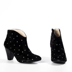 more MTNG booties! loveeee. Nelva Black now featured on Fab.