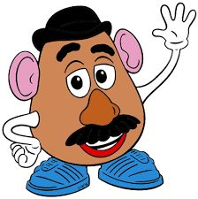 When I buy potatoes I always look for similar sizes so they will cook evenly. Disney Toys, Disney Pixar, Disney Cartoons, Disney Art, Walt Disney, Toy Story Theme, Toy Story Birthday, Toy Story Party, Simpsons Drawings