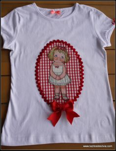 Camiseta muñeca en rojo Susana 2