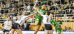 FTC-DVSC 31-24 - Női kézilabda-csapatunk hét góllal múlta felül a Debrecen együttesét az elődöntő első felvonásában. #handball #kézilabda Basketball Court, Sports, Hs Sports, Sport