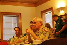 Worth Ranch Committee meeting during the summer of 2011 at Worth Ranch's Landreth Lodge