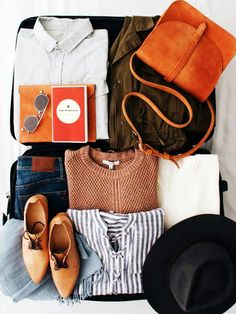 Watch a Traveler Pack 100 Items in Her Carry-On via @MyDomaine
