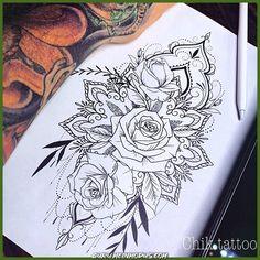 Als Melhores Tattoos de Pet - diy tattoo images - Tattoo Leg Tattoos, Body Art Tattoos, Sleeve Tattoos, Cool Tattoos, Drawing Tattoos, Drawings, Diy Tattoo, Tattoo Fonts, Tattoo Ideas