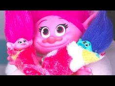 TROLLS: El nacimiento de los hijos qes qertuioopijfzVbmnzbnmtoooooo0ppde POPPY y RAMON! - YouTube