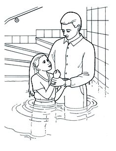 baptism of jesus coloring page moses holding the 10 commandments