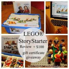 Lego Story Starter Giveaway! Worth $100 Jakeys would absolutely LOVE this!