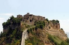 Orvieto, Italy. Yes, it is on top of a hill! Not far from Rome. Would go back there in a heart beat!