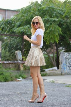The Peak of Tres Chic: Summer Sequins