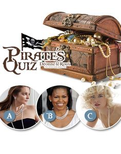 PIRATE'S QUIZ - What dress goes best with a string of pearls? A - Little black number B - Simple A-line C - Nothing, honey... ;) Don't miss out on your share of our pearl jewellery treasure! Up to half off until 26 November at Woodlands Boulevard and Kolonnade Shopping Centre. #BlackFriday #DealsonPearls