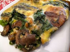 Breakfast Casserole with Mushrooms and Asparagus - Sounds like dinner to me!