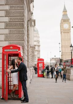 Cristin and Piers's Stylish London Wedding Engagement | Style & The Bride