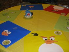 Angry Birds placemat