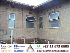 Our reputation is as solid as concrete! Why delay? Contact us today! #AluminiumWindows #DelareyW - 011 673 6603 or sales@delareyw.co.za Aluminium Windows, Bathroom Windows, Welding, Concrete, Steel, Soldering, Smaw Welding, Steel Grades, Iron