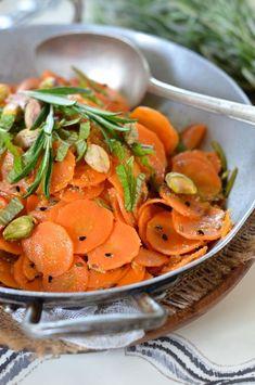 Salade de carotte au cumin et au citron