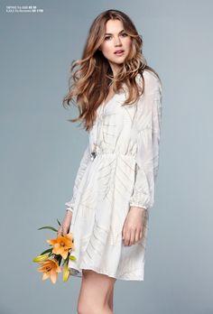 Xhibition SS16 Ss16, White Dress, Womens Fashion, Shopping, Dresses, Vestidos, Women's Fashion, The Dress, Dress