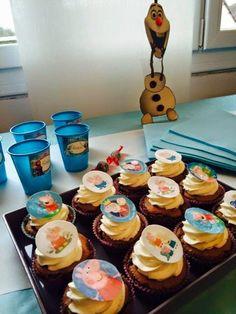 Le blog de la Rêveuse: Cupcakes la reine des neiges et Peppa Pig