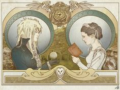 For those of you not in the know, I LOVE Labyrinth in a ridiculous, fan-girl way. I also have a soft spot for Art Noveau styles and well-designed artwork.
