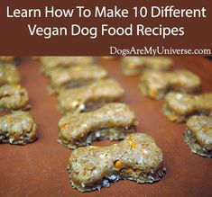 How To Make Dog Collar Vegan Dog Food Recipe. Peanut Butter & Applesauce Dog Biscuit Recipe To Make Dog Collar Vegan Dog Food Recipe. Dog Biscuit Recipes, Dog Treat Recipes, Healthy Dog Treats, Dog Food Recipes, Doggie Treats, Healthy Pets, Homemade Dog Cookies, Homemade Dog Food, Vegan Dog Food