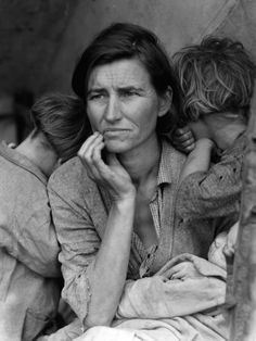 Dorothea Lange is one of my favorite photographers.  She took this one 1936, I love this