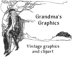 From Harry Clarke to 1890's storybooks, if you're looking for unique images or clipart for use on your web pages or in other design or craft projects you've come to the right place. There's a treasury here at Grandma's Graphics that you probably won't find anywhere else online.