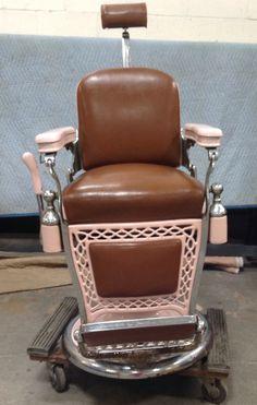 vintage koken comet barber chair 1950s 1960s pinterest