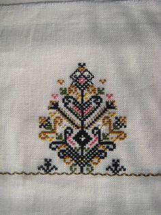 tree of life embroidery, Bulgaria
