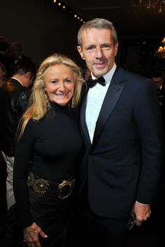 Ralph Lauren's Evening in Paris - Ricky Lauren and Lambert Wilson