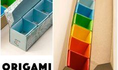 Origami Pill Box / Organizer Video Tutorial