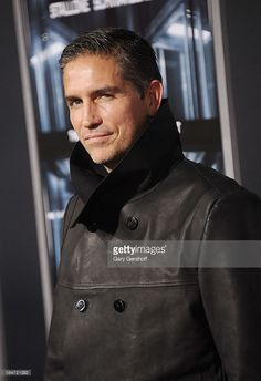 Acctor Jim Caviezel attends the 'Escape Plan' New York Premiere at Regal E-Walk on October 15, 2013 in New York City.