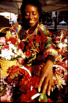 Baltimore's Flower Mart blossoms every May!