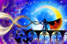 Tuxedo Kamen and Sailor Moon by vopoha.deviantart.com on @deviantART