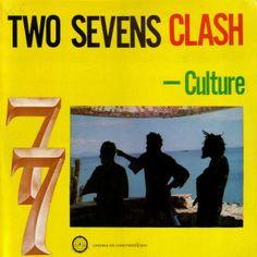 Culture - Two Sevens Clash (1977) Dancehall Reggae, Reggae Music, Culture Album, Jamaica Reggae, Clash On, Jah Rastafari, Jamaican Music, Soul Music, Mp3 Song