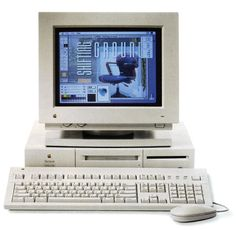 First designs were made on this beauty. The Macintosh Quadra 610.