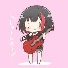Anime Oc, Anime Chibi, Game Character, Character Design, Dibujos Tumblr A Color, Hanabi, Kawaii Chibi, Moka, Girl Bands
