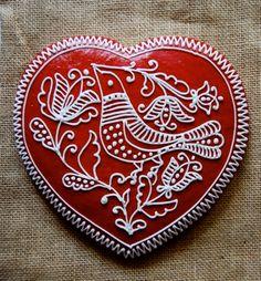 not mehndi obviously but love the design - hungarian folk art - Hungarian Honeybread
