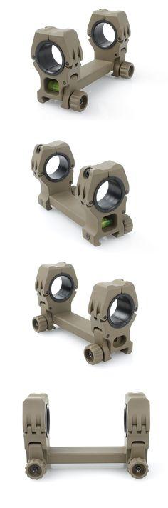 QD Rifle Scope Mount Set(Sand)