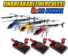 Get your hands on this fun #Hercules #Unbreakable Helipilot #rchelicopter from #hobbytron. #rcheli #gyro #hthelicopter -- Get yours today for only $159.95.