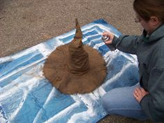 Making a Crooked Witch Hat