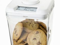 Kitchen Safe Uses Time Lock To Restrict Access To Tempting Foods