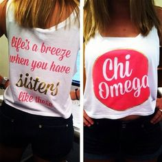 Life's a breeze when you have sisters like these! #ChiOmega #ChiO #regram from @Megan Ward Ward Ward Rohde