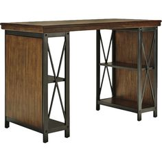 Add this industrial desk to the office or library as a stylish home for your laptop and printer, or set it in the master suite to pen lovely letters before b...