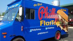 New Buffalo Food Truck: Philly Flattop serving, you guessed it, Philly Cheesteakes!