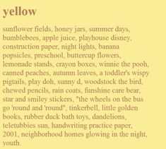 Image about cute in 💛Yellow 💛 by ·satune· on We Heart It - Gelb Sunflower Fields, Yellow Sunflower, The Words, Banana Popsicles, Sunny D, Was Ist Pinterest, Canned Peaches, Crayon Box, Happy Colors