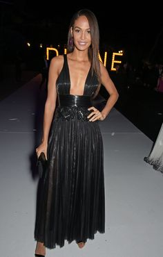 Joan Smalls in Givenchy Haute Couture at Cannes 2015