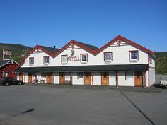 A Norwegian motel... Do you know where the word motel comes from? Click to find out...